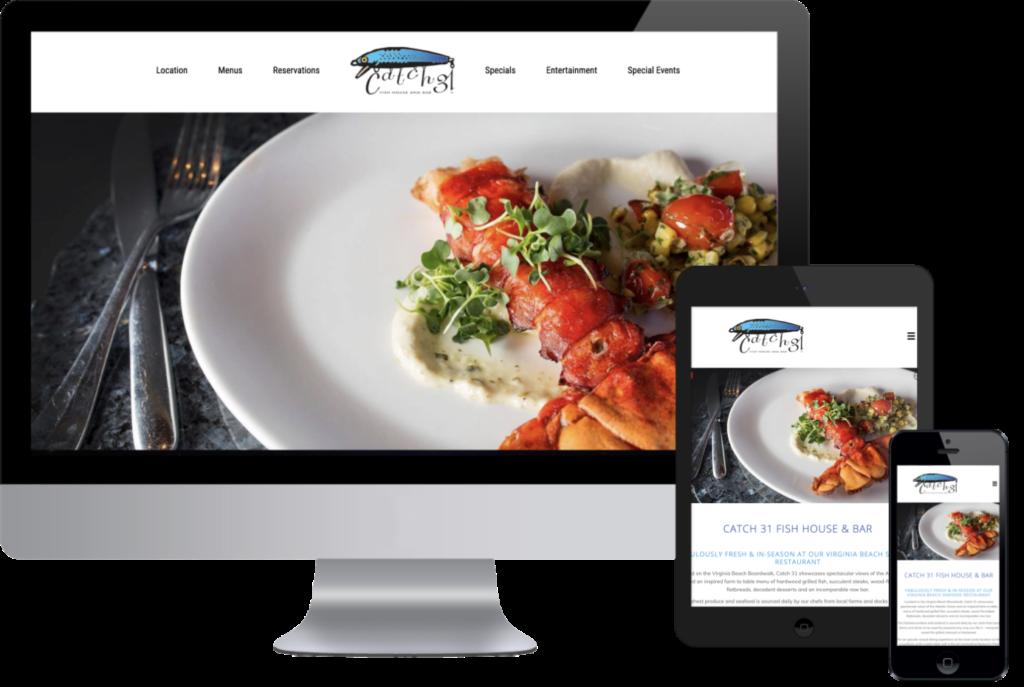 Catch31 Mobile Responsive Website