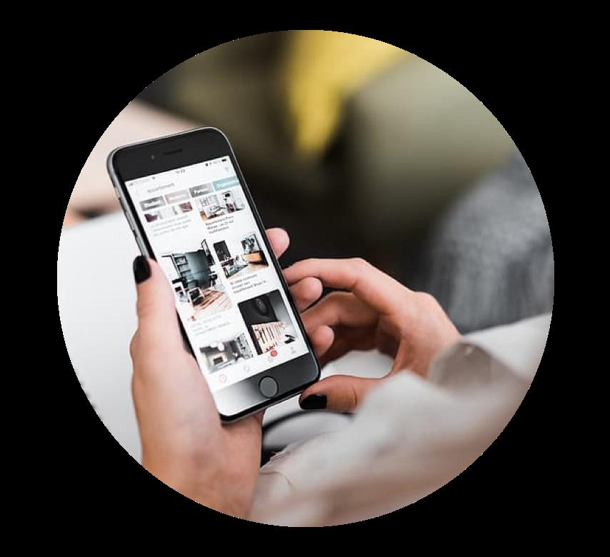 Circle Pic of mobile app