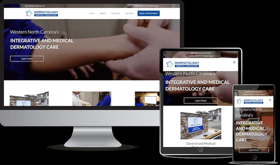 Dermatology Responsive Design