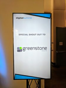 Digital Summit - Sponsor Sign