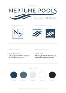 Final_T_Neptune Proofs- 2 Brand Style Guide Neptune Pools_2020 Greenstone Media@2x