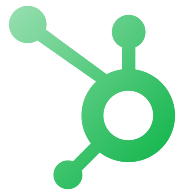 Green hubspot icon logo for steps