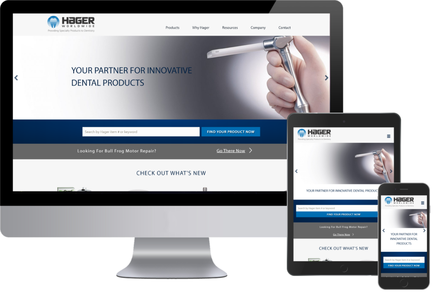 Hager Worldwide Responsive Images they now have a responsive website