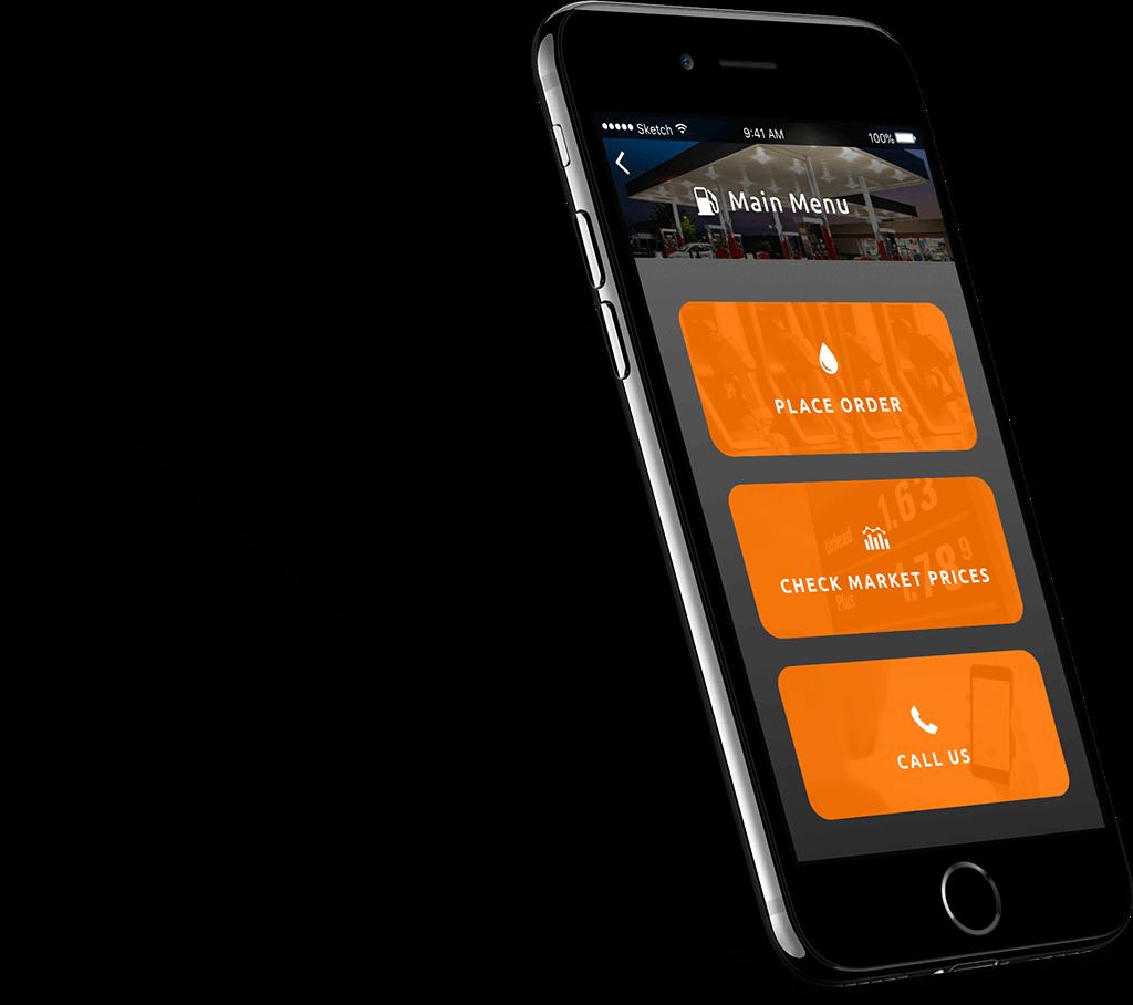 Mobile App Henderson Oil