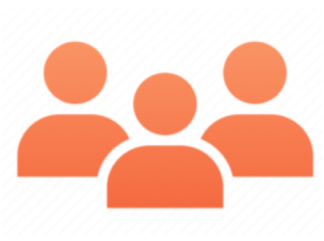 Mobile App Service people icon orange Copy 2