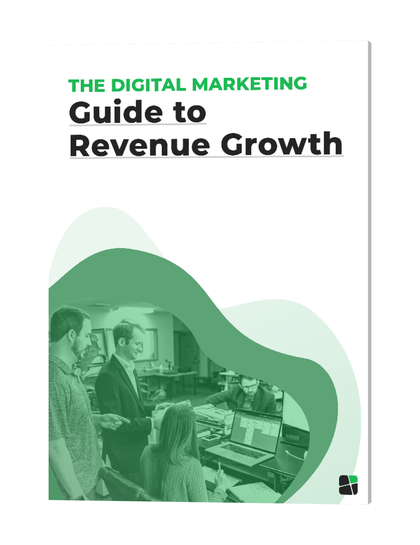 New Digital Markeing Ebook 3D cover