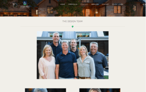 Sheehan Built Homes design team page- After