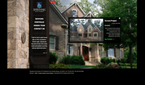 Sheehan Built Homes home page - Before