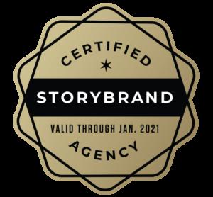 StoryBrand Certified Agency Badge Logo