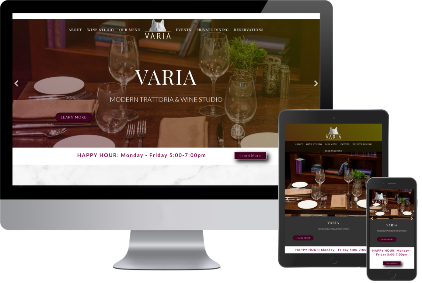 Greenstone Media built a website for Varia and now they have a website that works and is responsive