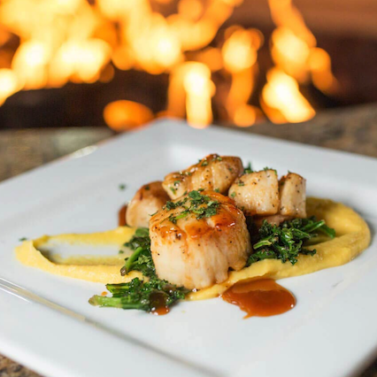scallop dish from catch 31