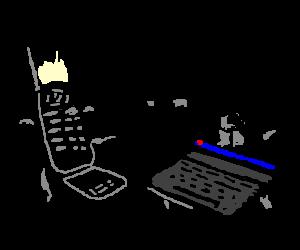 Computer V.S. Cellphone