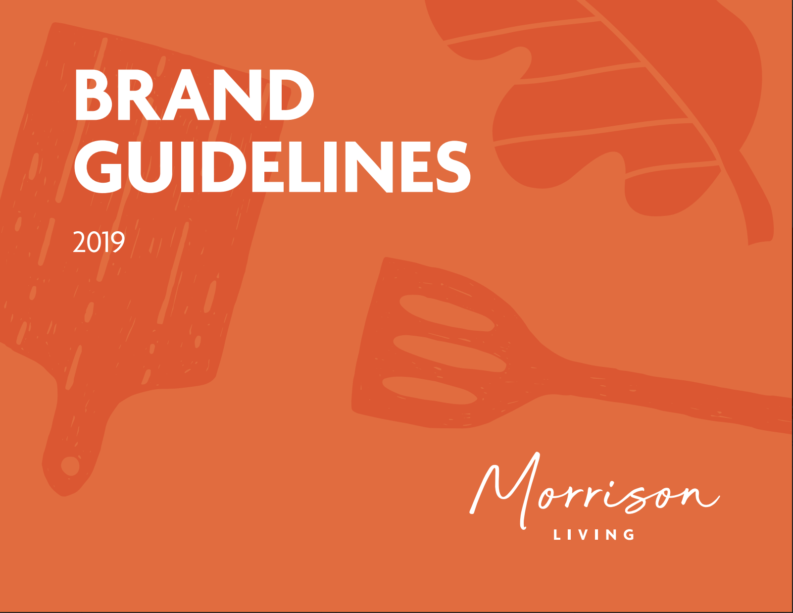 brand guidelines pdf from morriison living