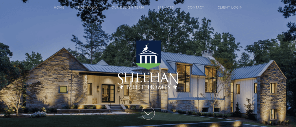 sheehanbuilthomes home page